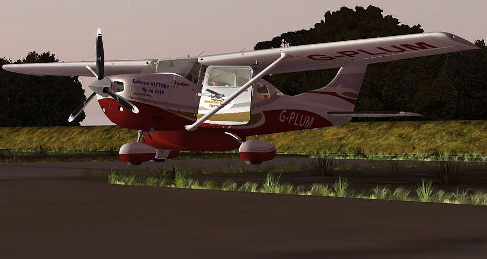 Carenado Cessna 206 Cessna 206 G-plum For Fsx/fs9